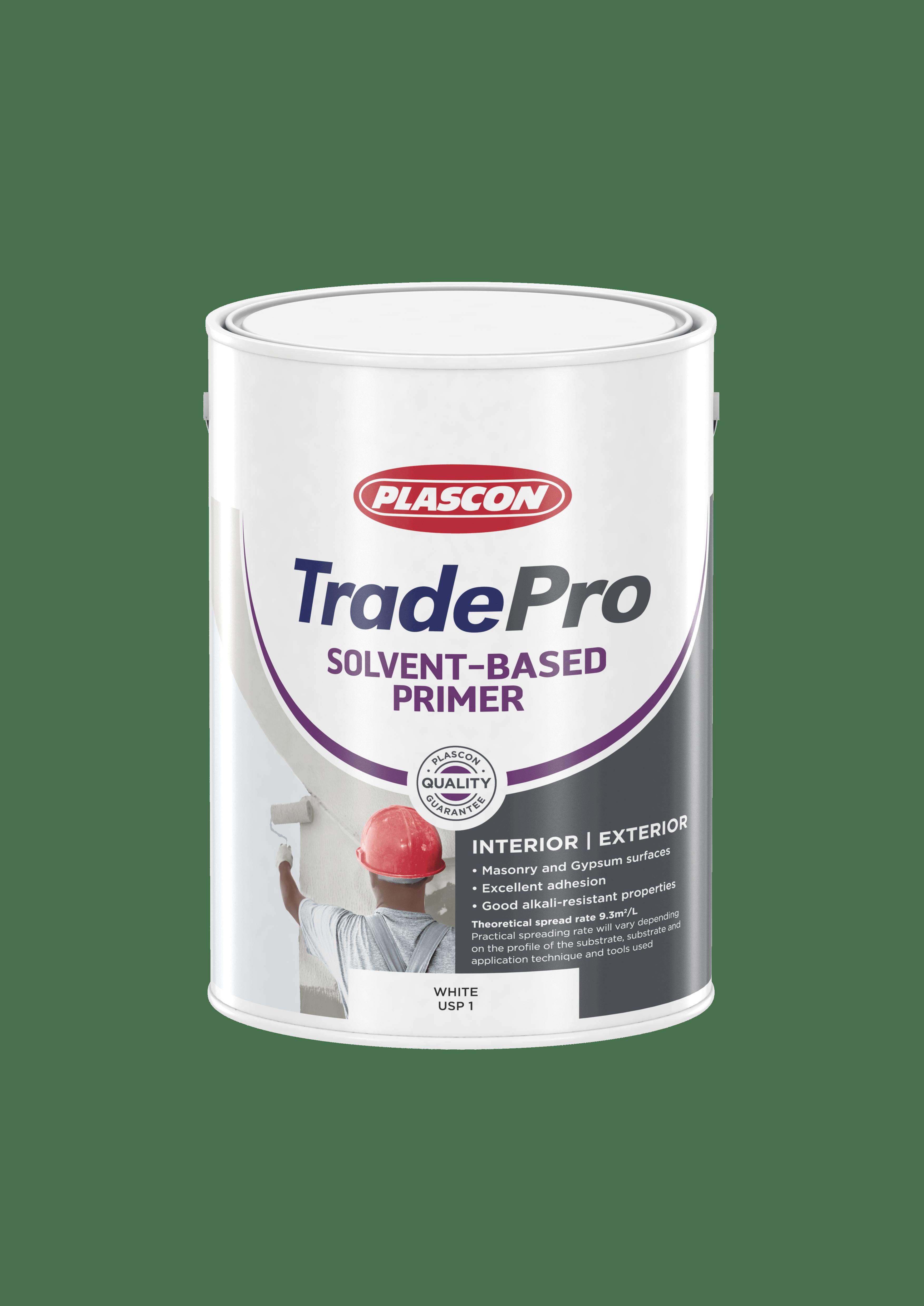 Plascon Trade Pro Solvent Base Plaster Primer 5lt Hyper