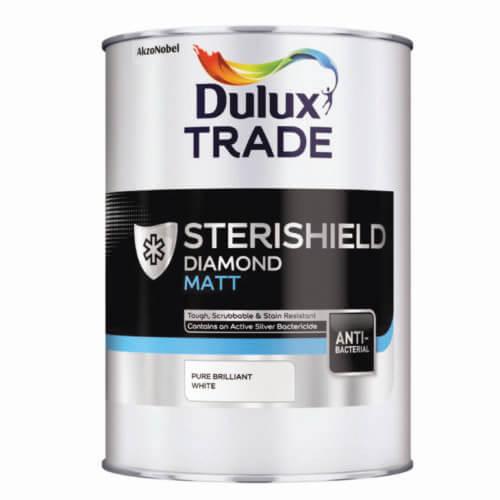 Dulux Trade Sterishield Diamond Matt 2