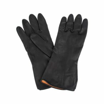 Safety Gloves - BLACK PLASTIC GLOVES