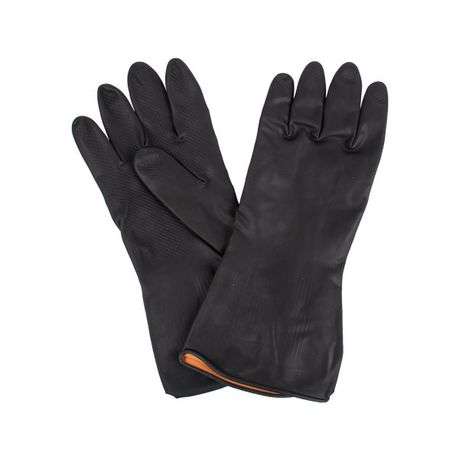 Safety Gloves - BLACK PLASTIC GLOVES